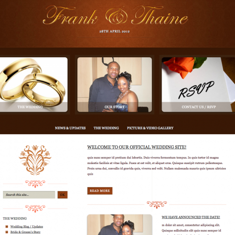Frank & Thaine (Wedding)