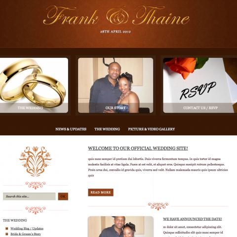 Frank & Thaine (Wedding)