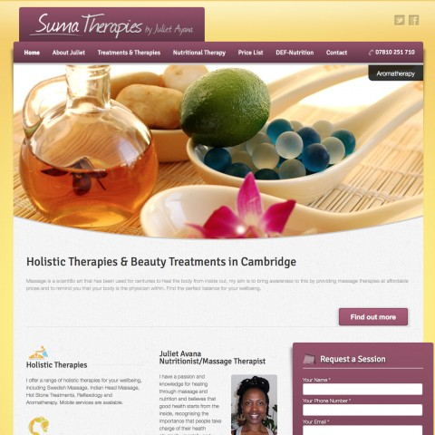 Sumatherapies